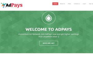 Adpays – kiem tien tu web